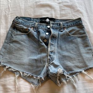 After Party by Nasty Gal Jean Shorts